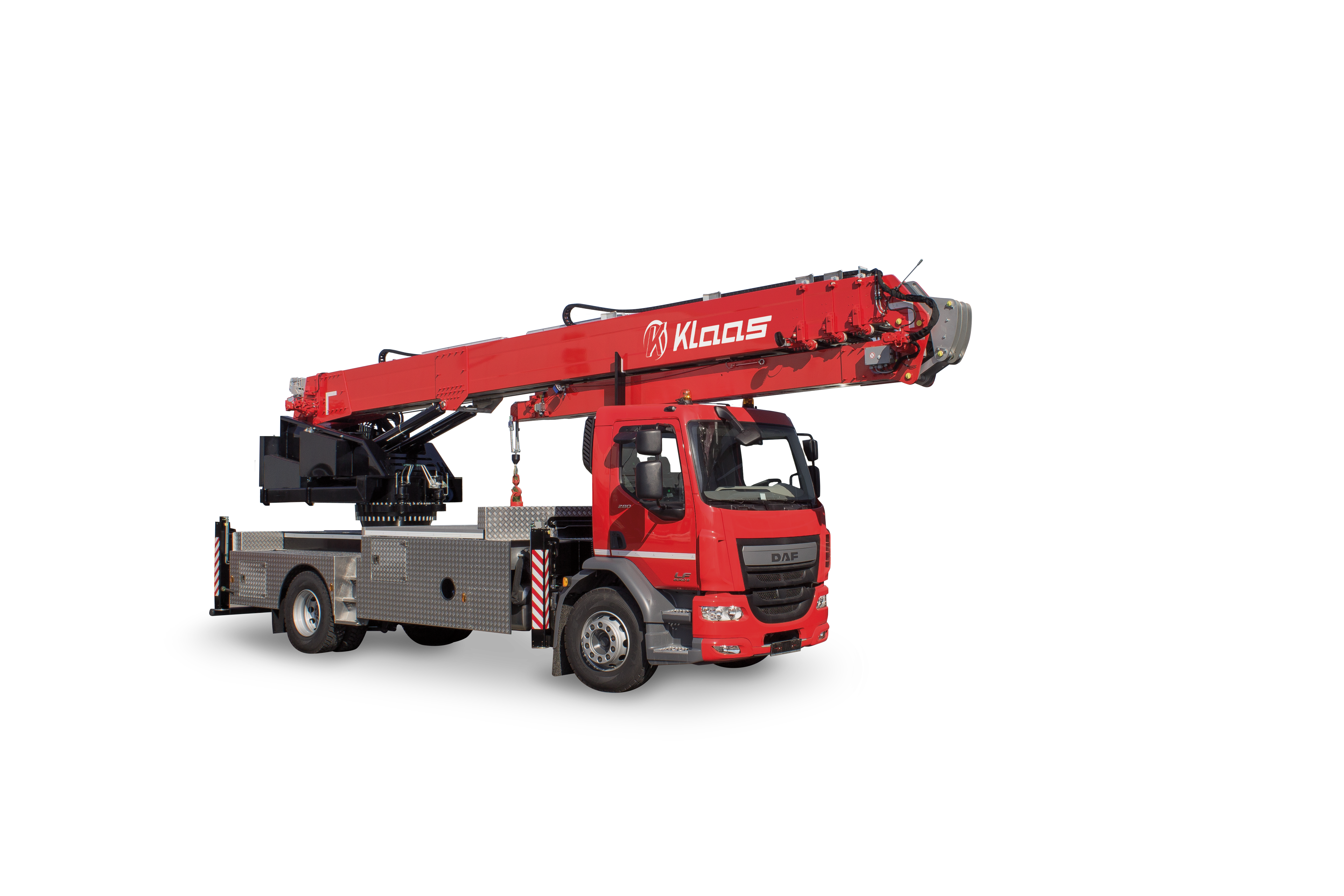 f00009c7638b74 Kranlyft will be at Entreprenad Live 2018 to showcase their range of Klaas  Aluminium truck and trailer cranes for the first time.